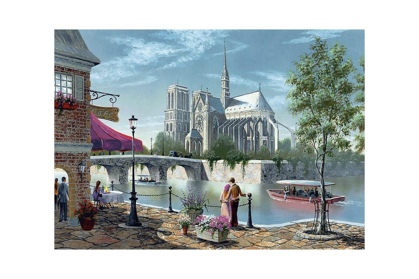 Puzzle Schmidt - Notre-Dame De Paris, 1.000 piese (58375)