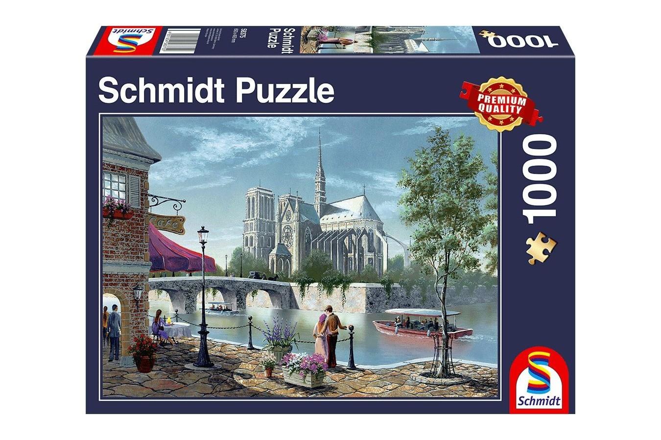 Puzzle Schmidt - Notre-Dame De Paris, 1.000 piese (58375) - 1