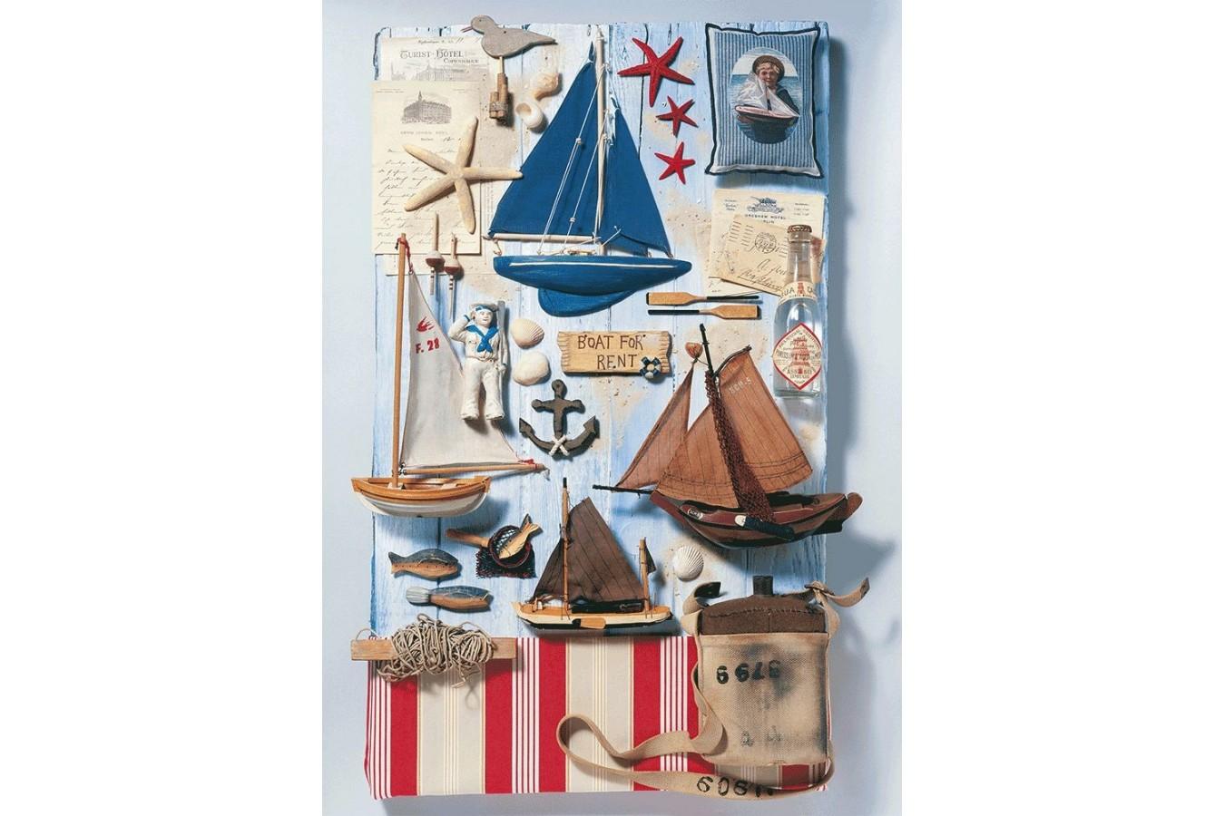 Puzzle Schmidt - Maritime Potpourri, 1.000 piese (58381) imagine
