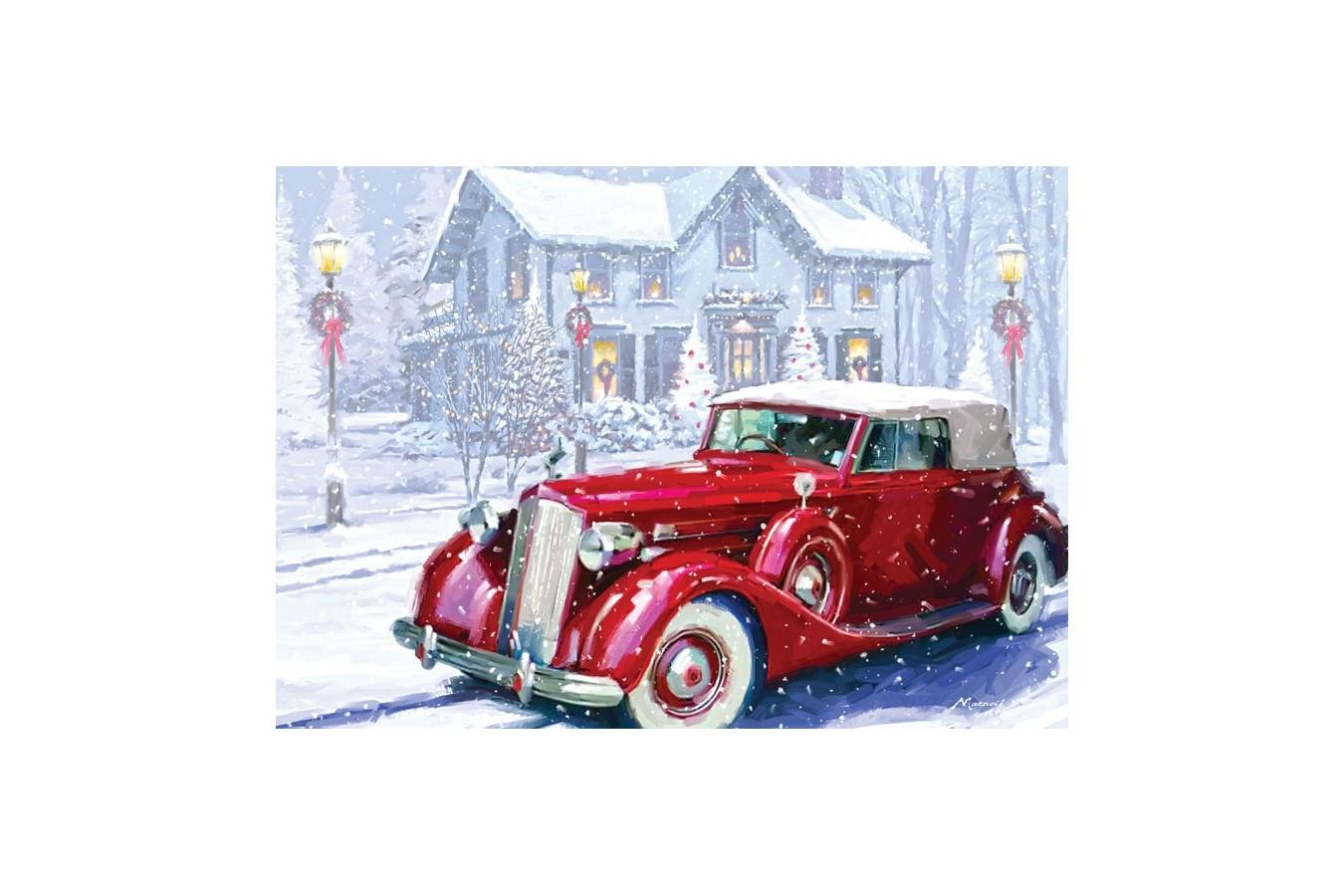 Puzzle Art Puzzle - Richard Macneil: Vintage Car, 1.000 piese (Art-Puzzle-4464) imagine