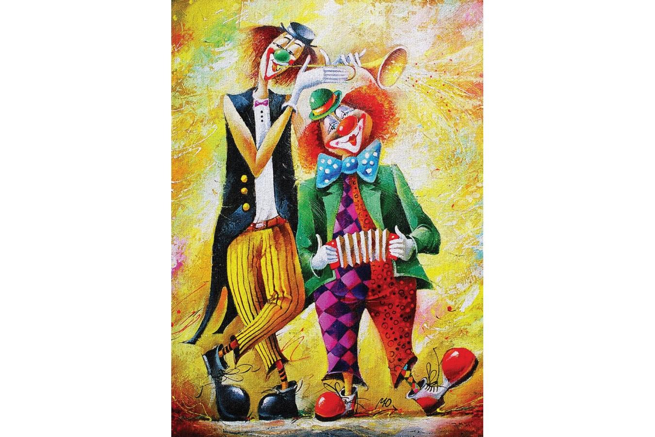 Puzzle Art Puzzle - The Funny Twain, 500 piese (Art-Puzzle-4182) imagine