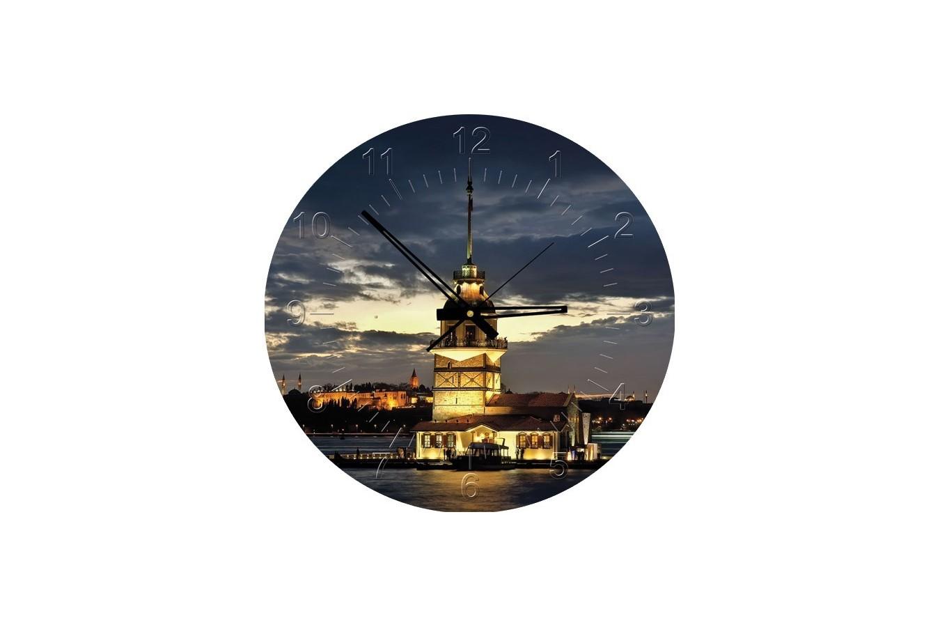 Puzzle rotund Art Puzzle - Maiden Tower, Istanbul, 570 piese (Art-Puzzle-4137) imagine