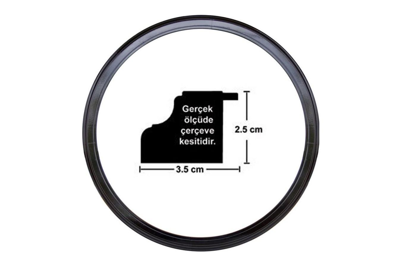 Rama Rotunda Pentru Puzzle Tip Ceas (Art-Puzzle-4991) imagine