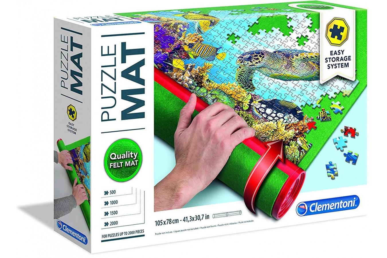 Puzzle Clementoni - Covor Pentru Rulat Puzzle 500-2000 Piese (30229) imagine