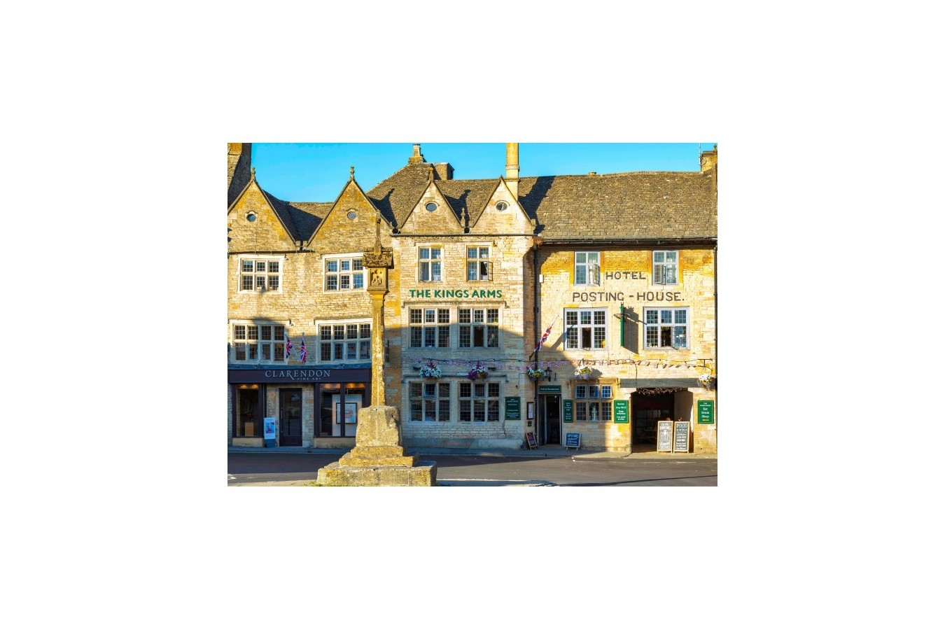 Puzzle Grafika - Stow-On-The-Wold in the Cotswolds, 1.000 piese (02956) imagine