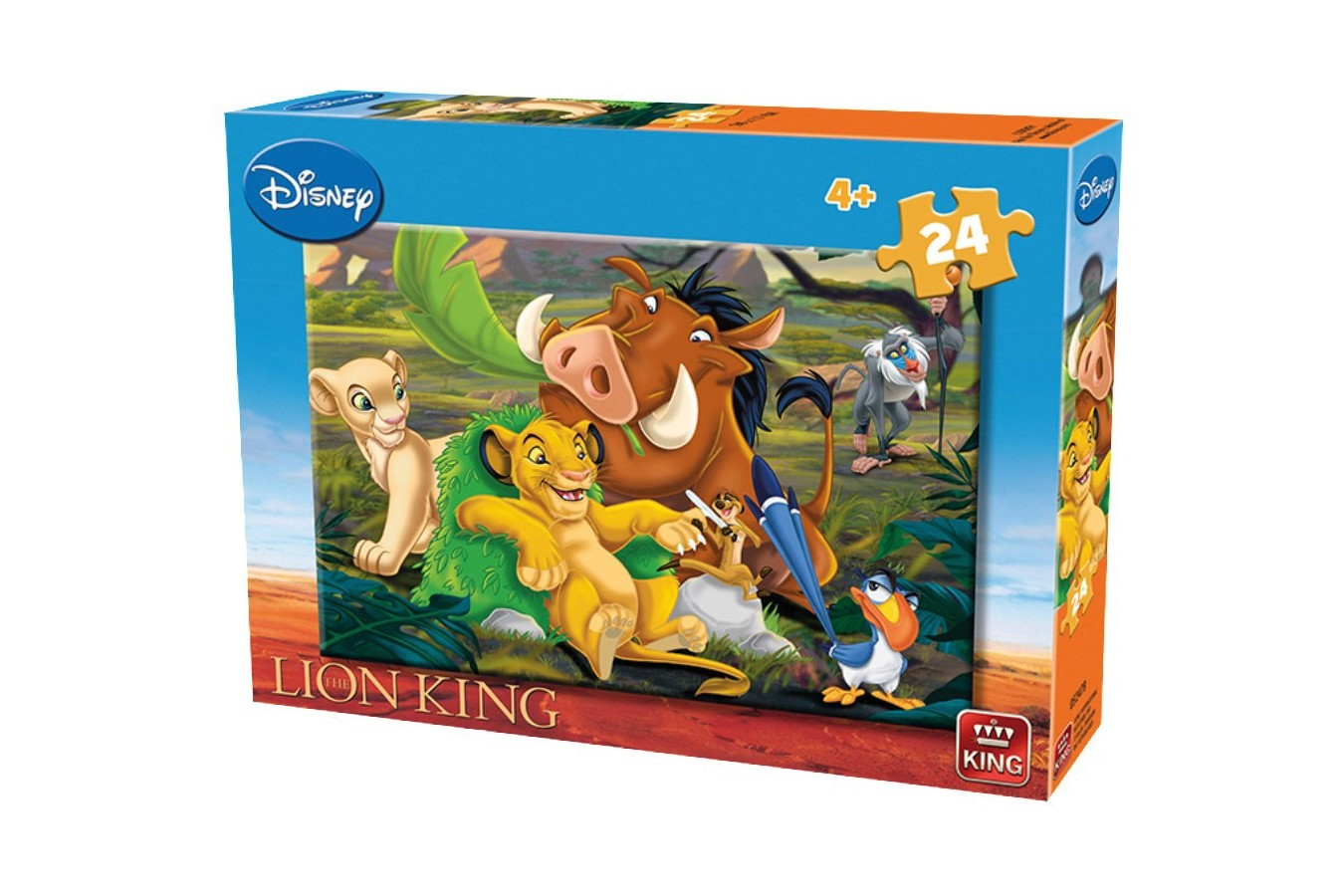 Puzzle King - The Lion King, 35 piese (05247-B) imagine