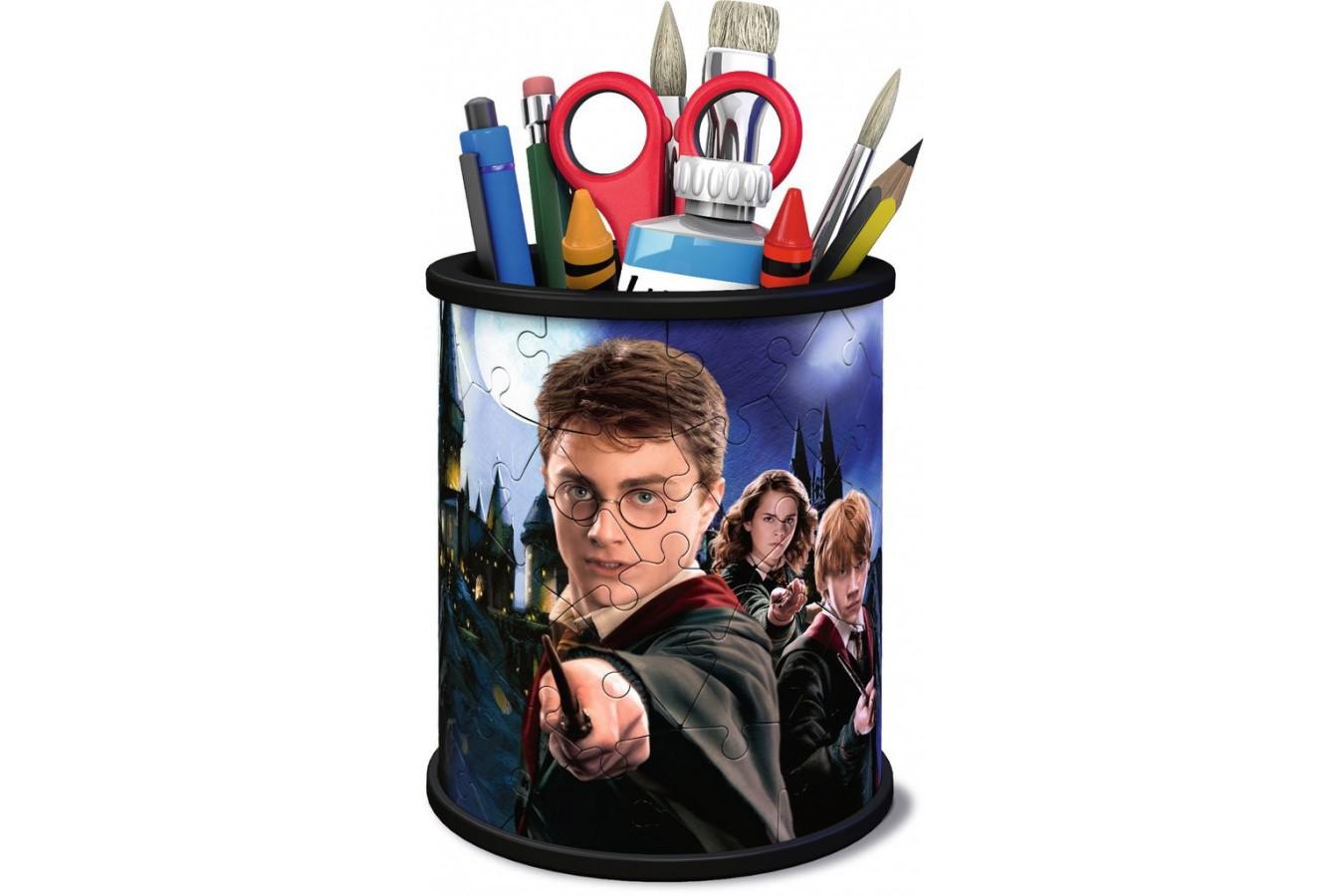 Puzzle 3D Ravensburger - Pencil Cup - Harry Potter, 54 piese (11154) imagine