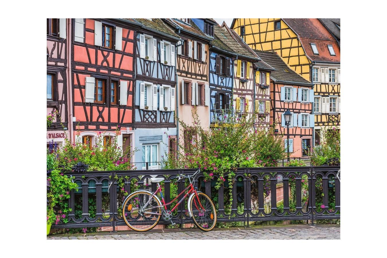 Puzzle Ravensburger - Colmar, France, 500 piese XXL (13711) imagine