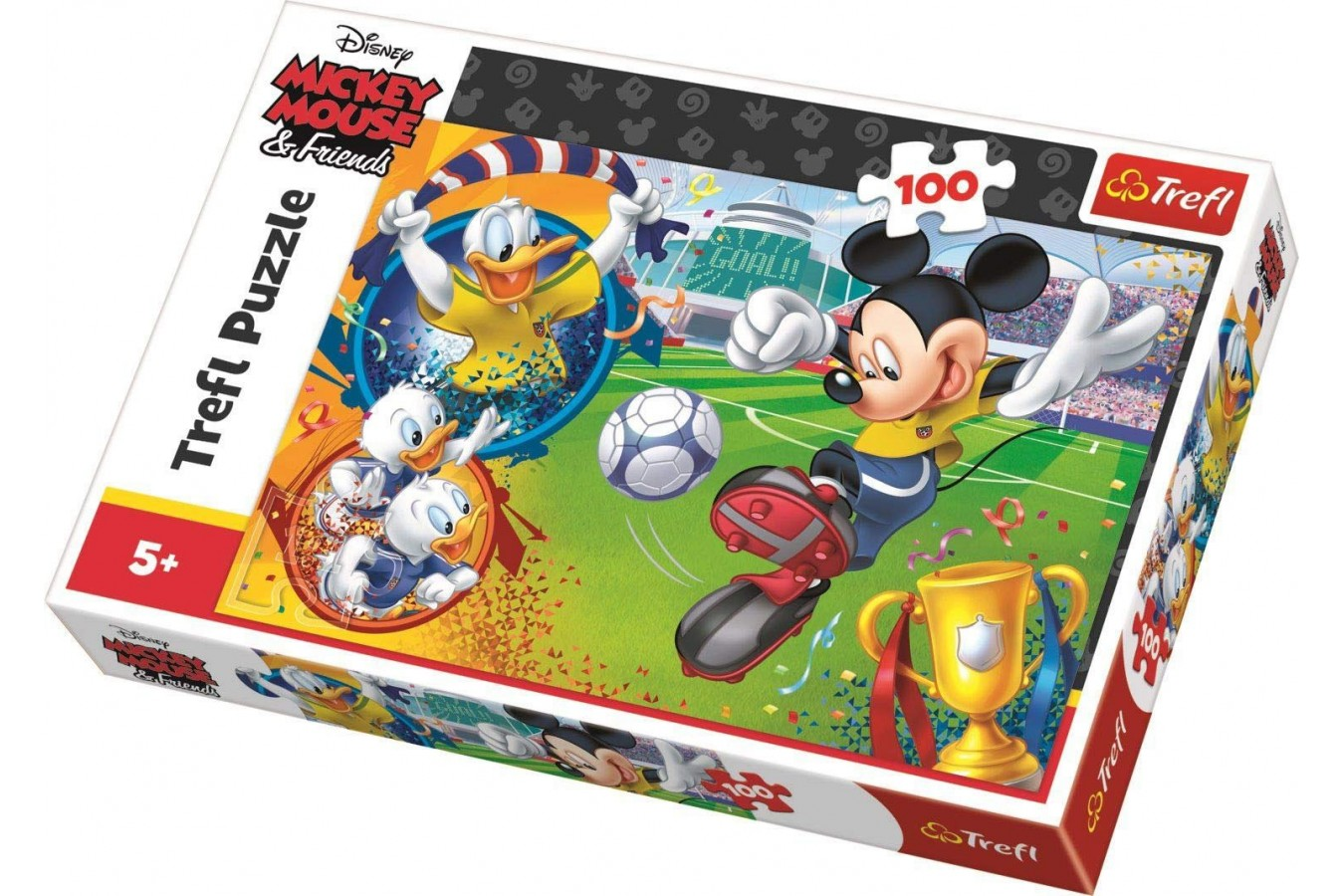 Puzzle Trefl - Mickey Mouse, 100 piese (16353) imagine