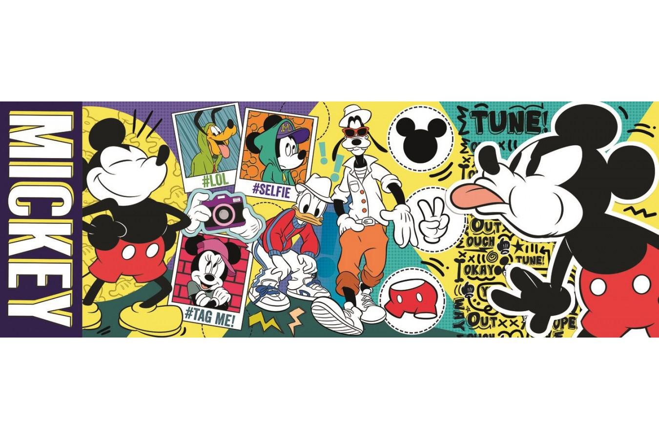 Puzzle panoramic Trefl - Mickey, 500 piese (29511) imagine