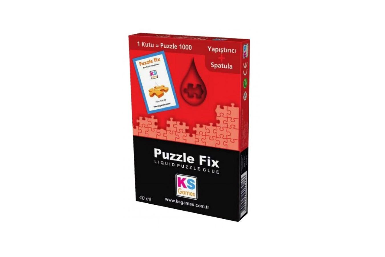 Lipici pentru puzzle KS Games, 1000 Pieces, 40 ml (KS-Games-T228) imagine