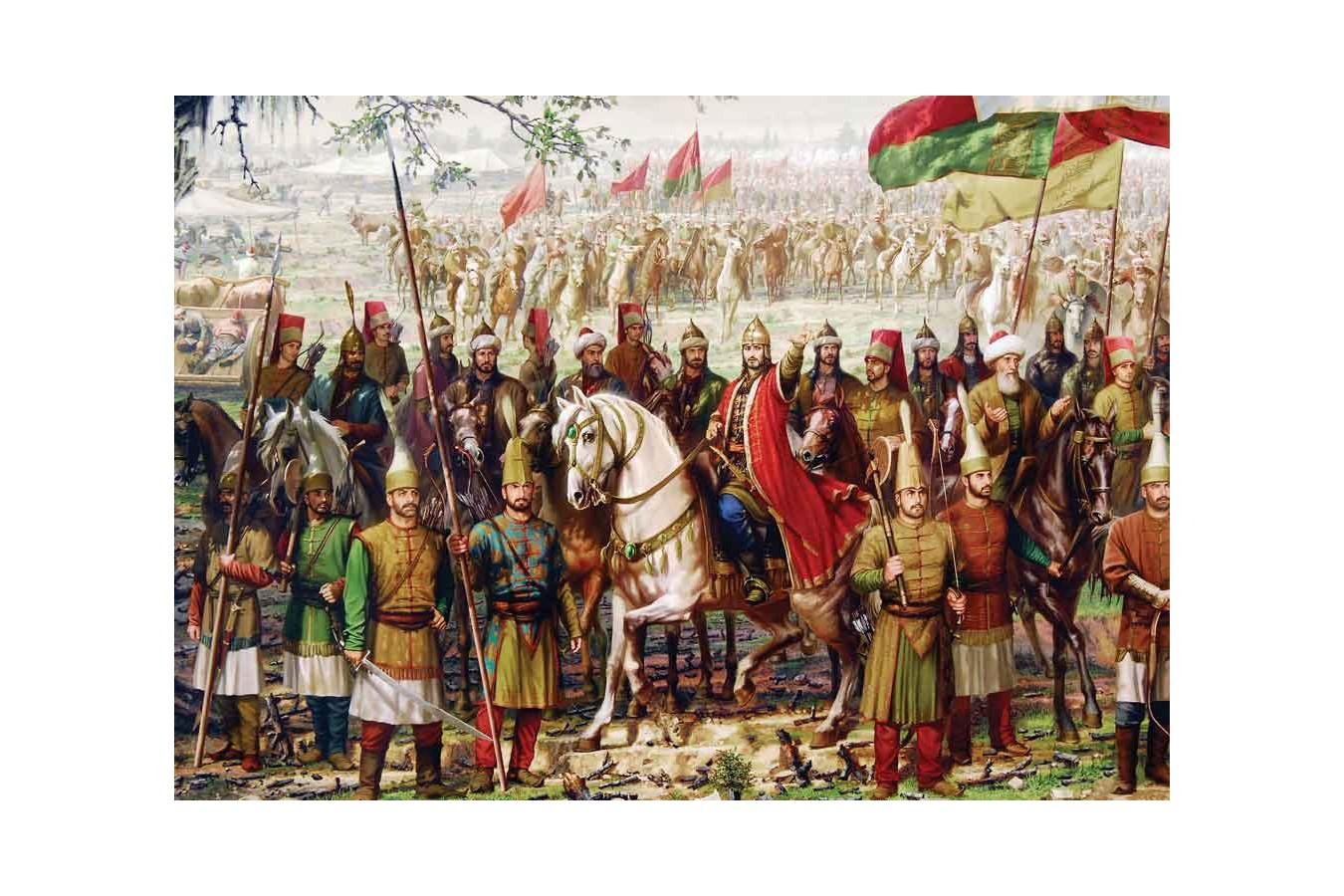 Puzzle KS Games - Sultan Mehmet II The Conqueror, 1.000 piese (KS-Games-11237) imagine