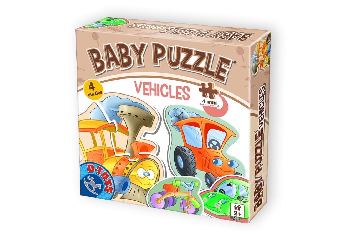Puzzle D-Toys - Baby Puzzle, 2/3/4 piese (Dtoys-71279-BP-01) imagine
