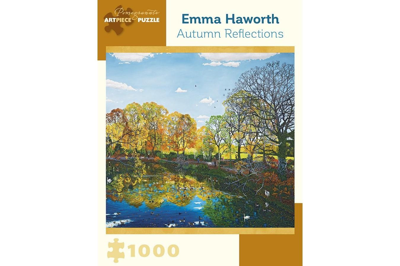 Puzzle Pomegranate - Emma Haworth: Autumn Reflections, 2012, 1.000 piese (AA954) imagine