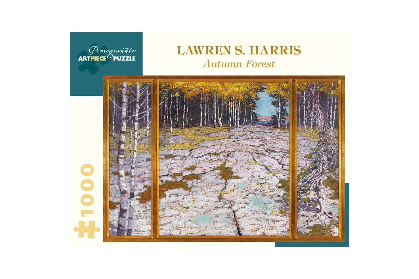 Puzzle Pomegranate - Lawren S. Harris: Autumn Forest, 1.000 piese (AA1020) imagine