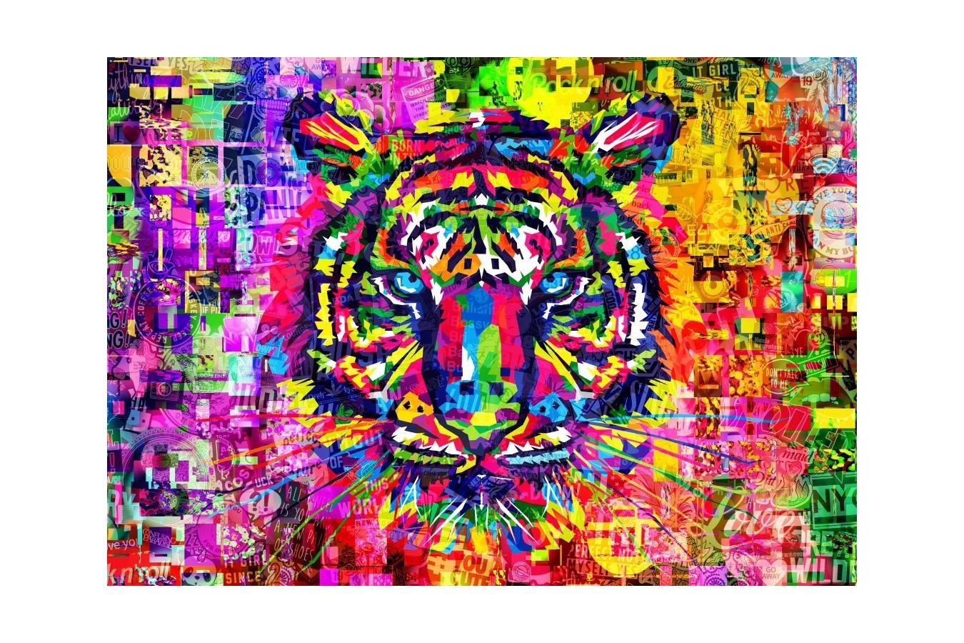 Puzzle Bluebird Puzzle - Wonderful Tiger, 1.000 piese (Bluebird-Puzzle-70221) imagine