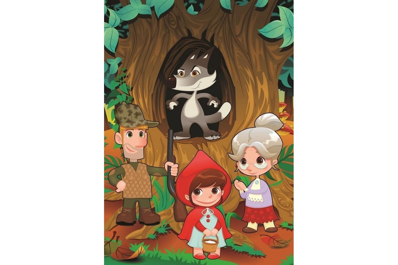 Puzzle Art Puzzle - Little Red Riding Hood, 50 piese XXL (Art-Puzzle-4503) imagine
