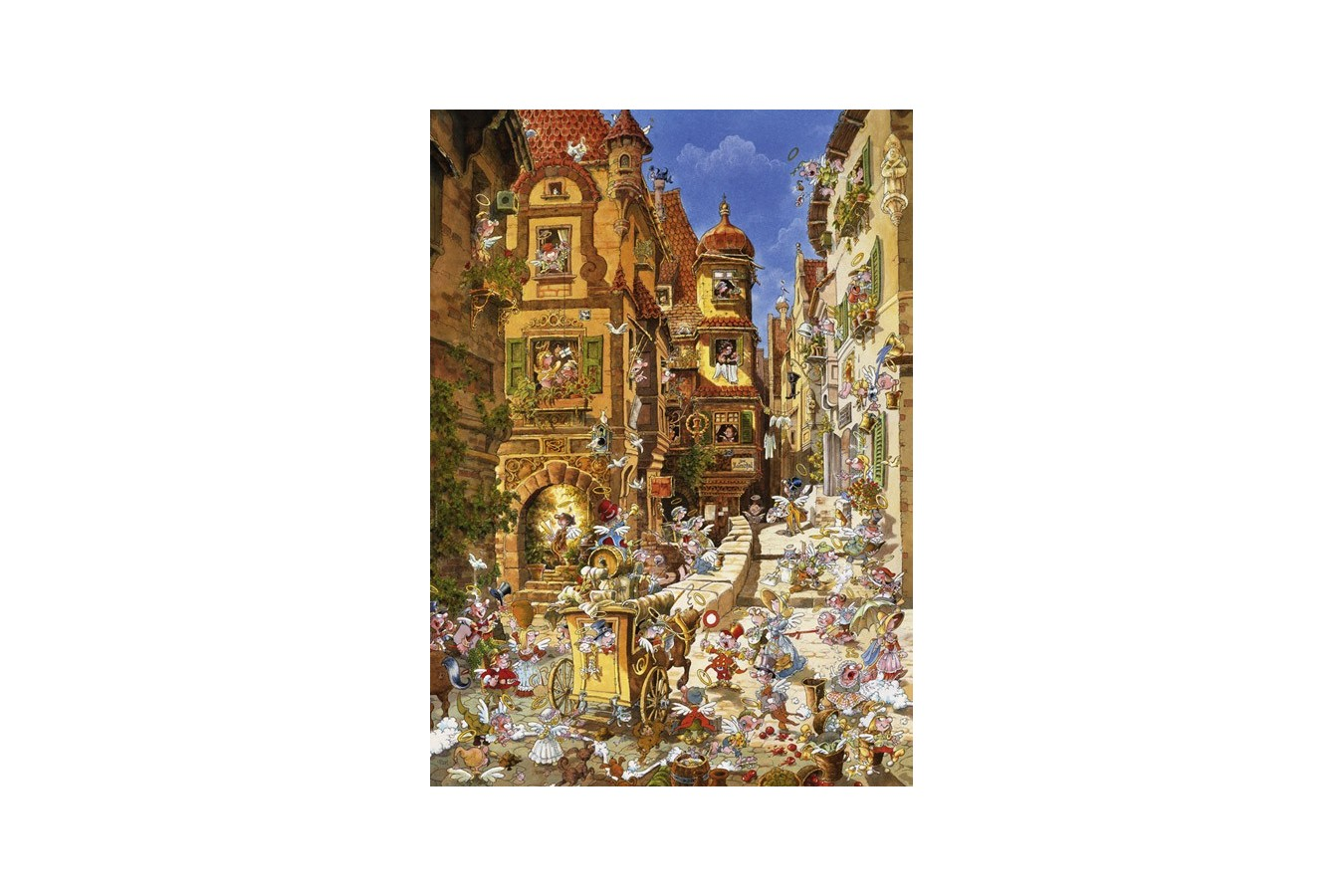Puzzle Heye - Ryba Michael: By Day, 1.000 piese (29874) imagine