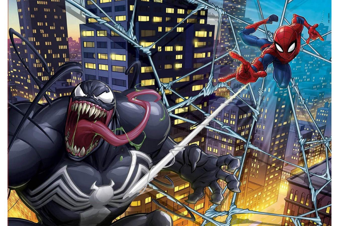 Puzzle Educa - Spider-Man, 200 piese (18100) imagine