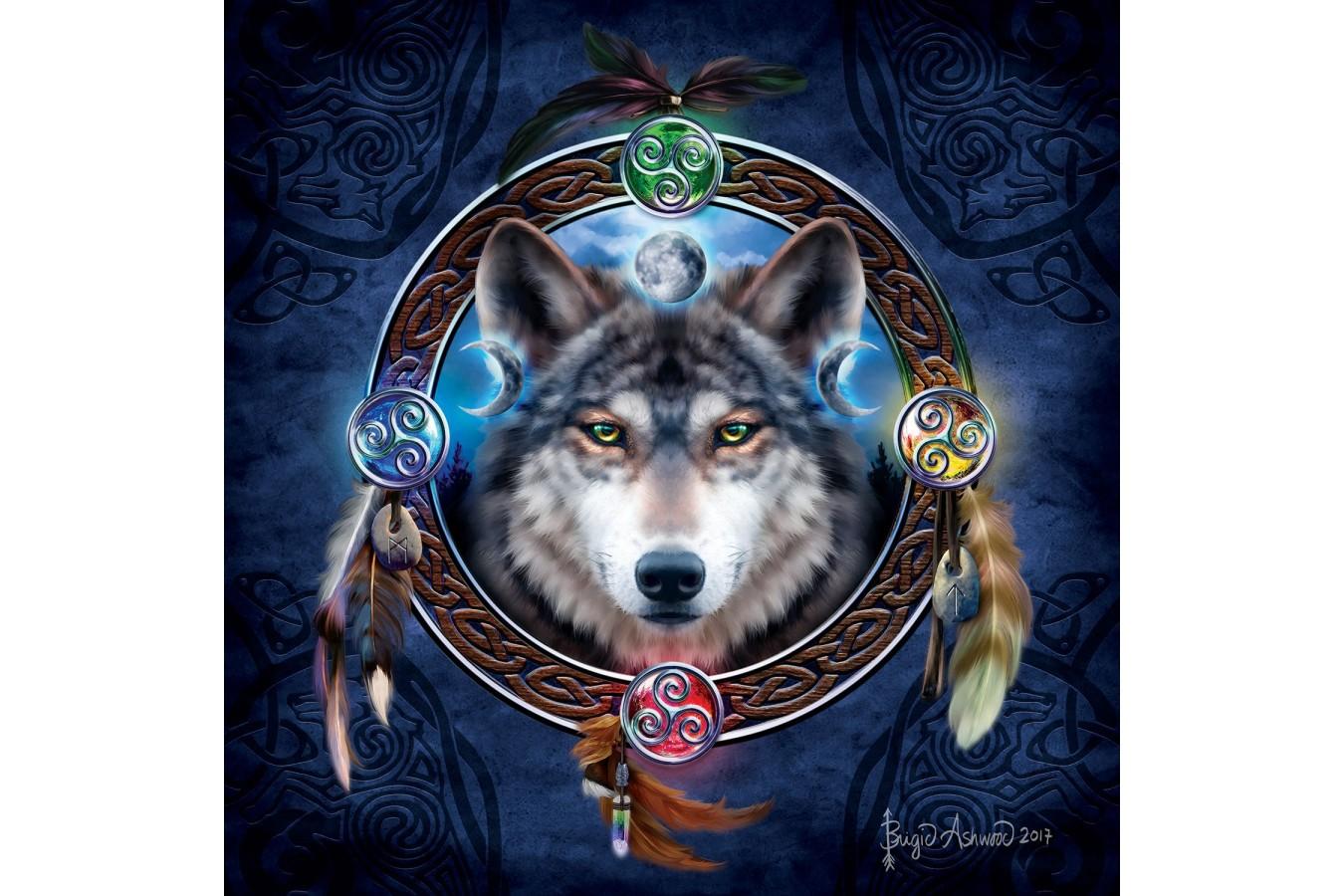 Puzzle SunsOut - Brigid Ashwood: Celtic Wolf Guide, 1.000 piese (Sunsout-20106) imagine