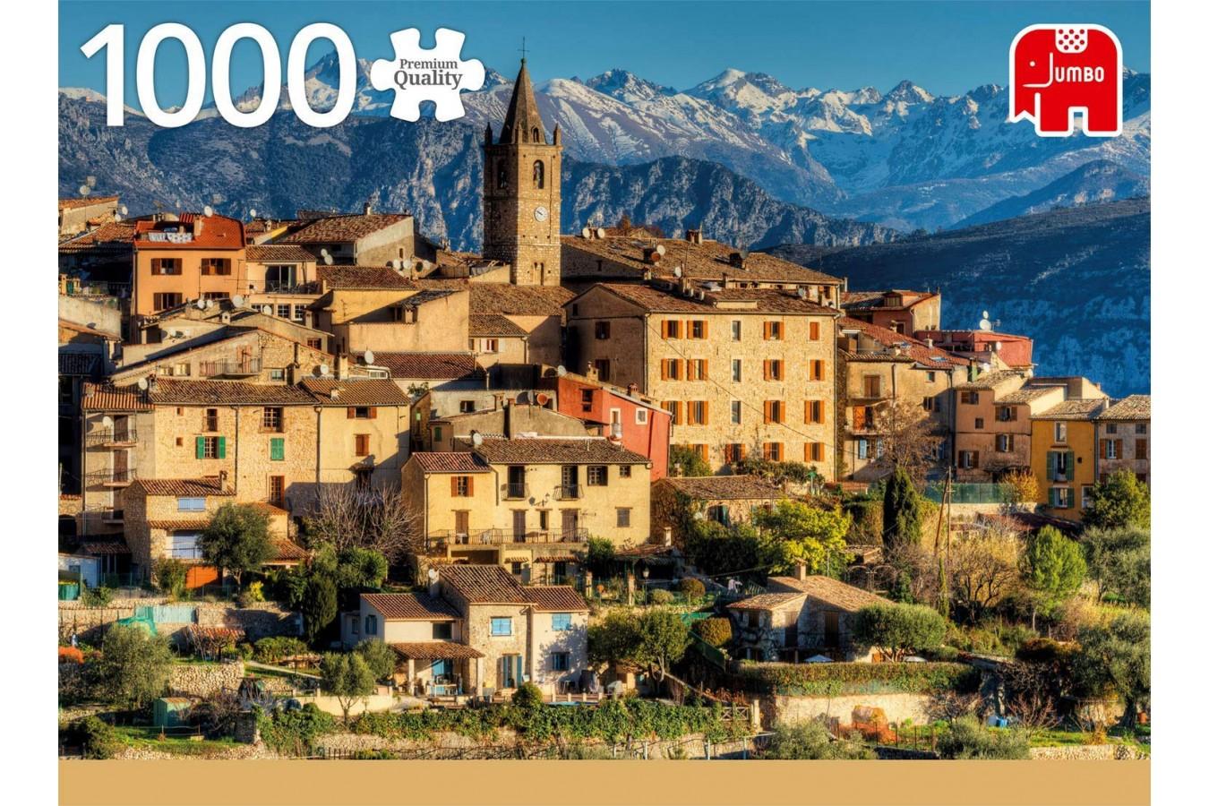 Puzzle Jumbo - Alps Near Cote d'Azur, 1.000 piese (18831) imagine