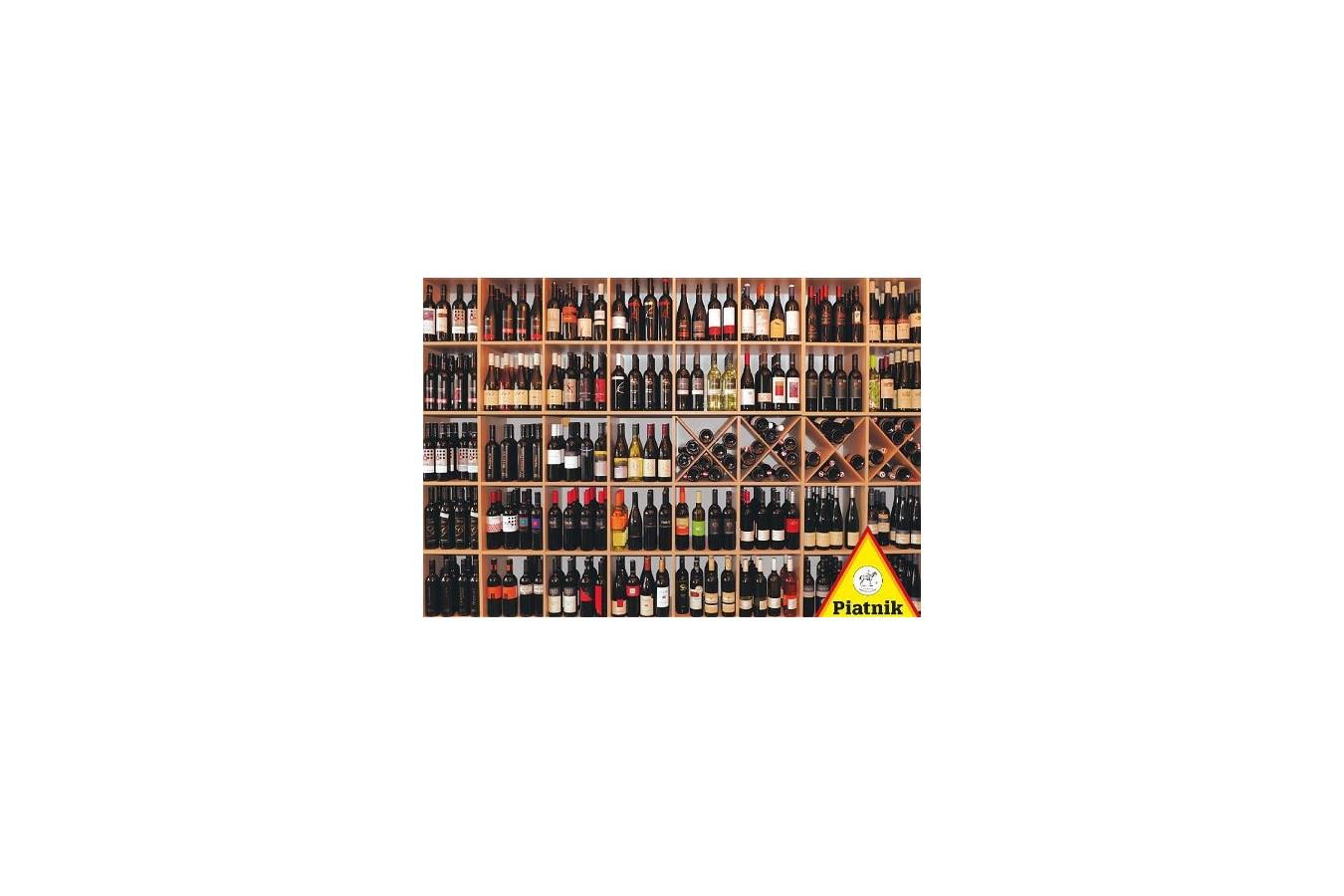 Puzzle Piatnik - Wine cellar, 1.000 piese (5357) imagine