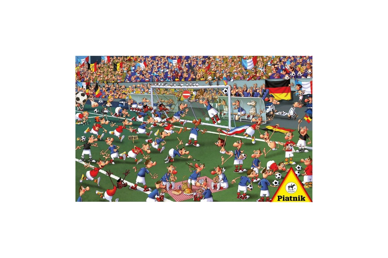 Puzzle Piatnik - Francois Ruyer: Football, 1.000 piese (5373) imagine