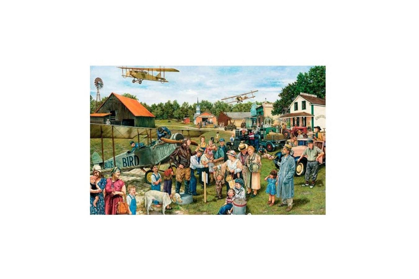 Puzzle Piatnik - Barnstormers, 1.000 piese (5480) imagine