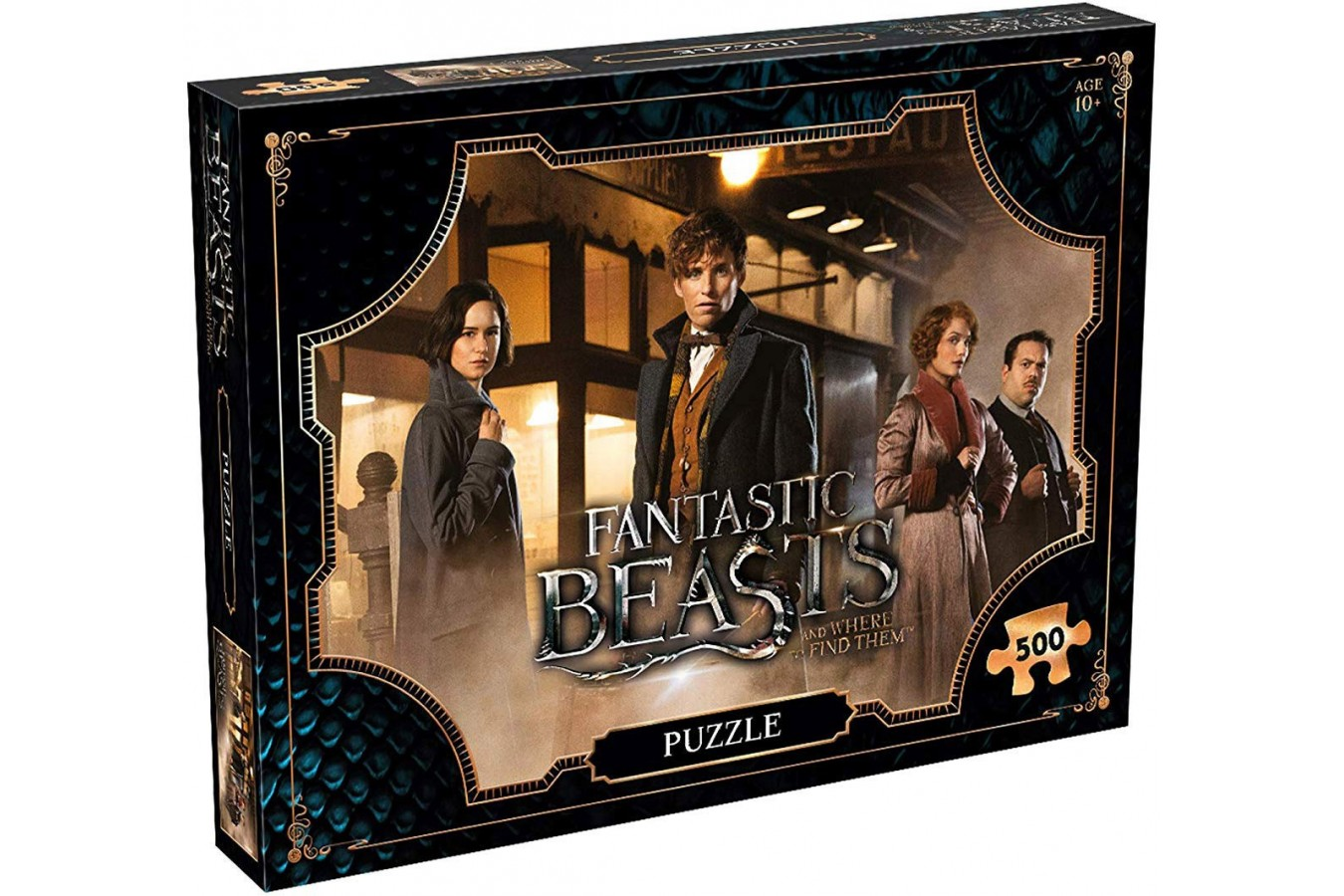 Puzzle Winning Moves - Fantastic Beasts and Where to Find Them, 500 piese (Winning-Moves-33091) imagine