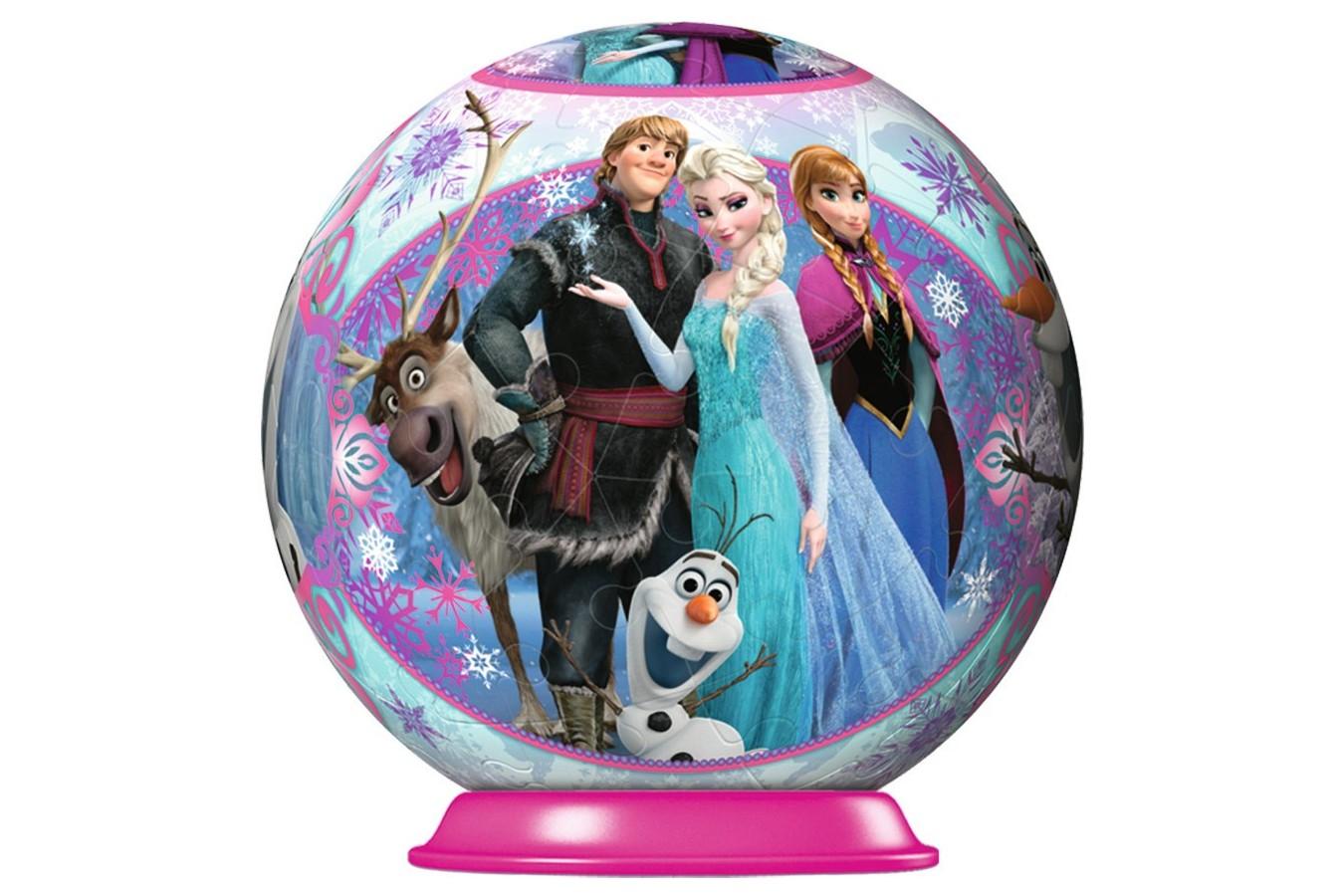 Puzzle glob Ravensburger - Frozen, 54 piese (11913) imagine