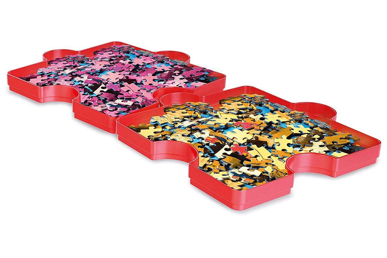 Cutii pentru sortat puzzle Clementoni, 6 buc imagine
