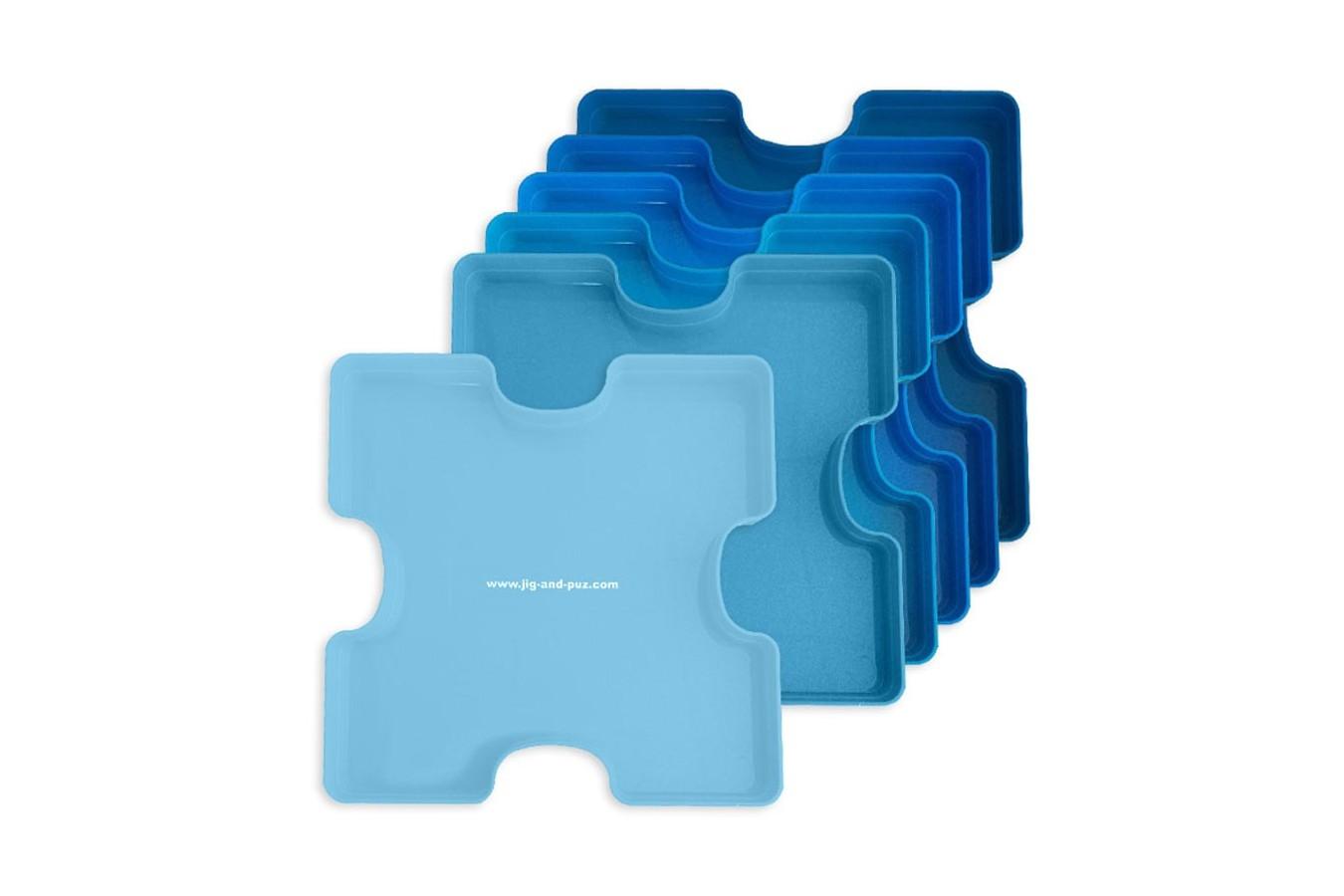 Cutii pentru sortat puzzle Jig & Puz, 6 buc imagine