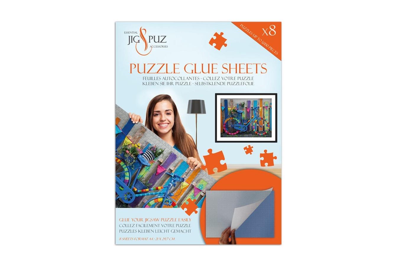 Folii pentru lipit puzzle 1000 piese Jig & Puz imagine