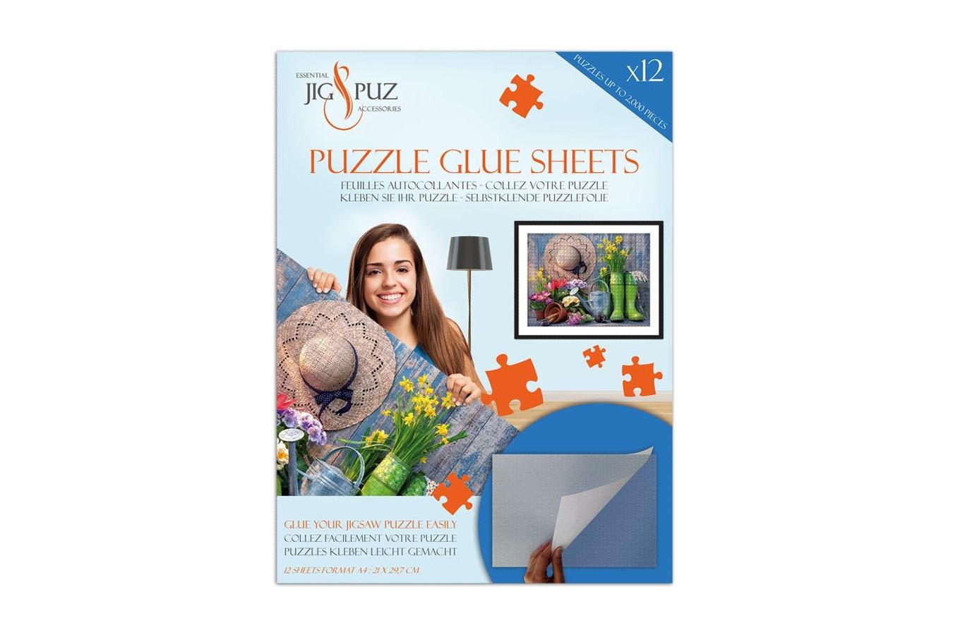 Folii pentru lipit puzzle 2000 piese Jig & Puz imagine