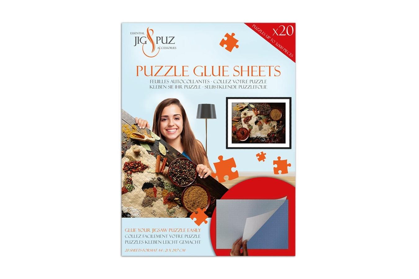 Folii pentru lipit puzzle 3000 piese Jig & Puz imagine