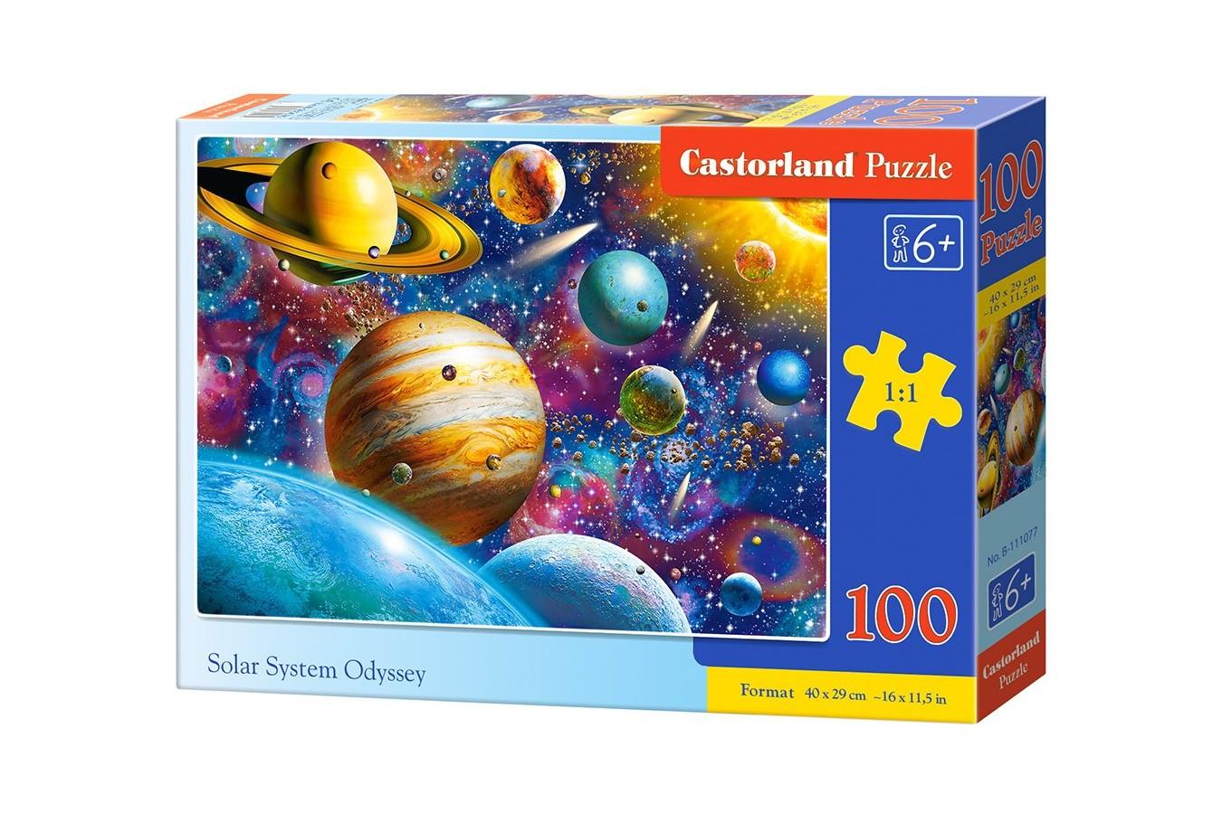 Puzzle Castorland - Solar System Odyssey, 100 piese (111077)