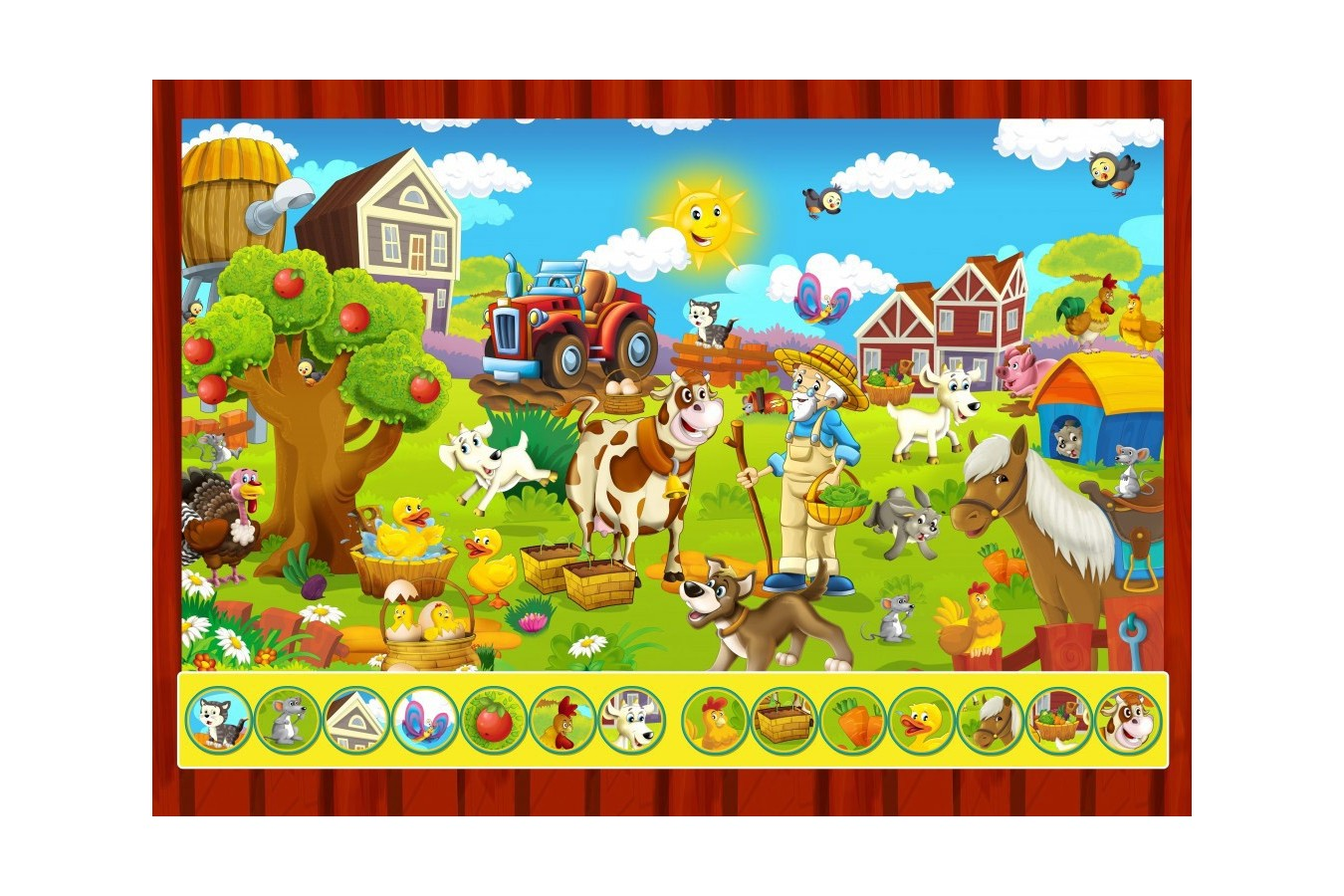 Puzzle Bluebird - Search and Find - The Toy Factory, 100 piese (70349) imagine