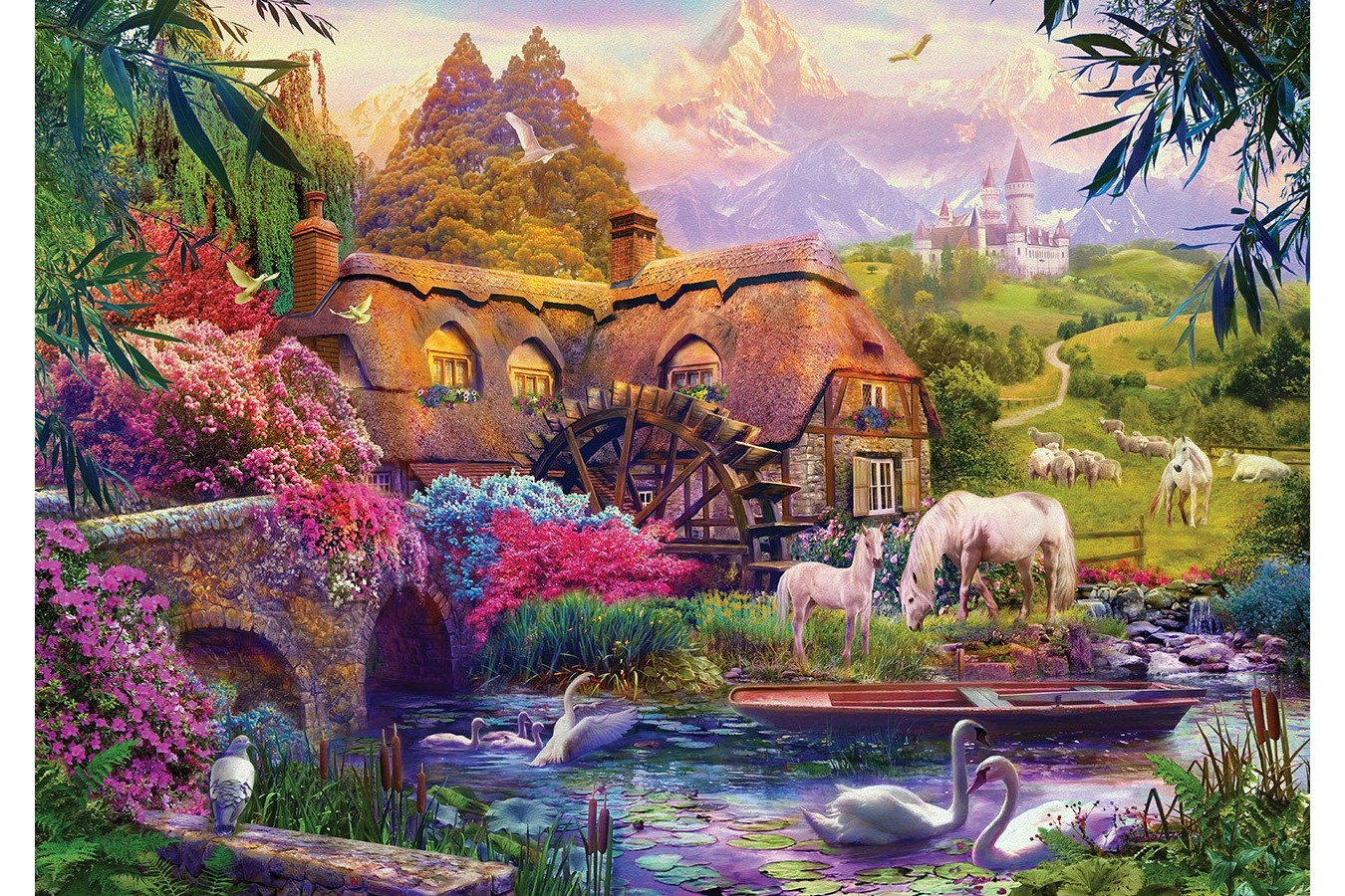 Puzzle KS Games - Old Mill, 500 piese (20007) imagine