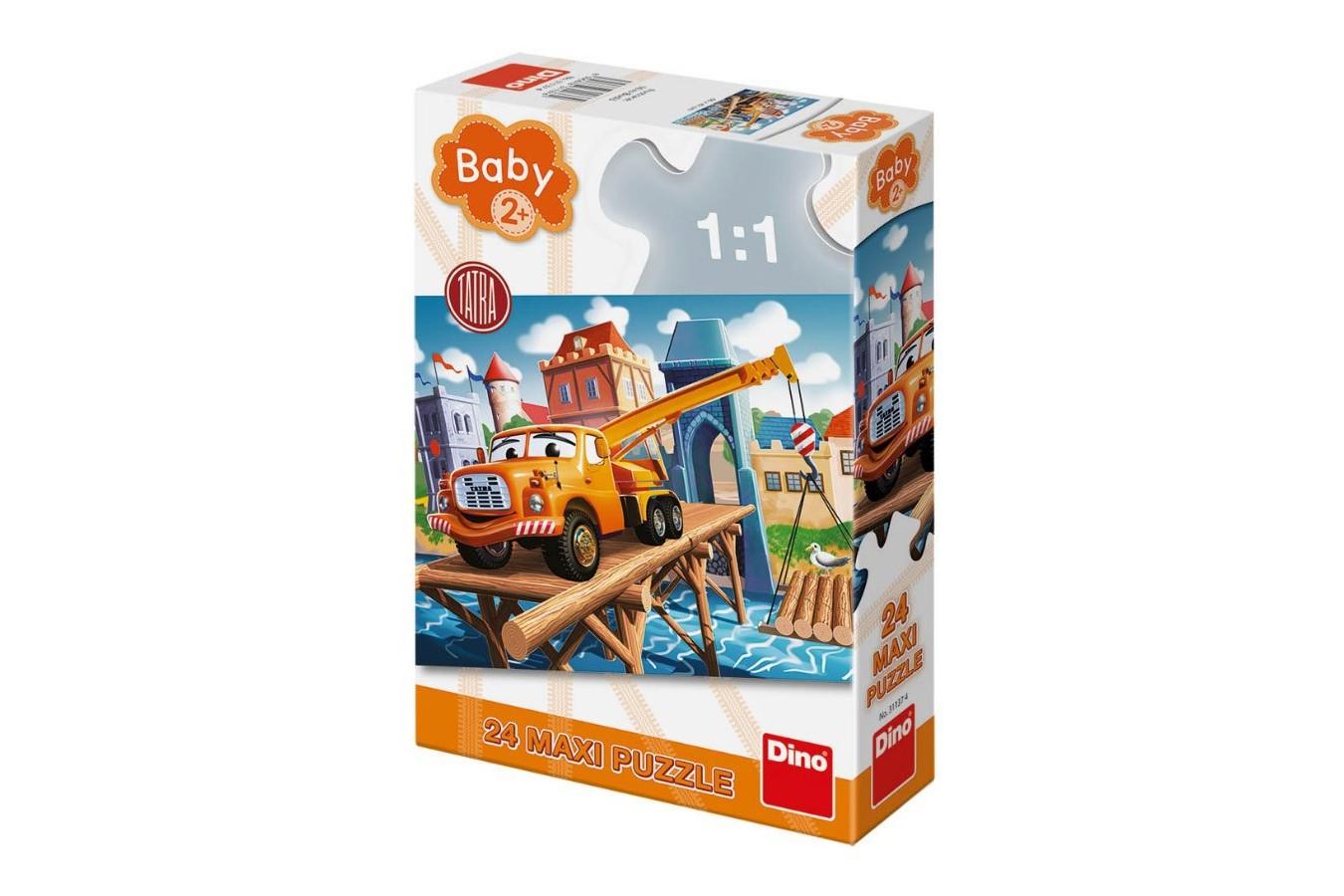 Puzzle Dino - Baby Puzzle, 24 piese XXL (35020) imagine