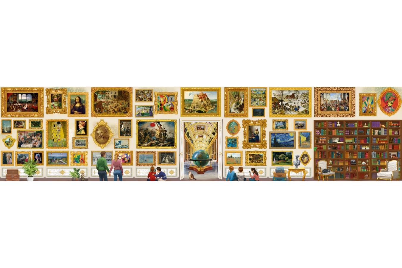 Puzzle Grafika - The World's Largest Jigsaw Puzzle - Travel around Art!, 54000 piese (T-00944) imagine