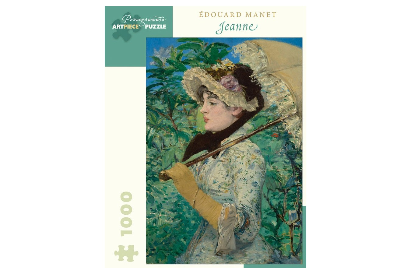 Puzzle Pomegranate - Edouard Manet: Jeanne (Spring), 1881, 1.000 piese (AA1050) imagine