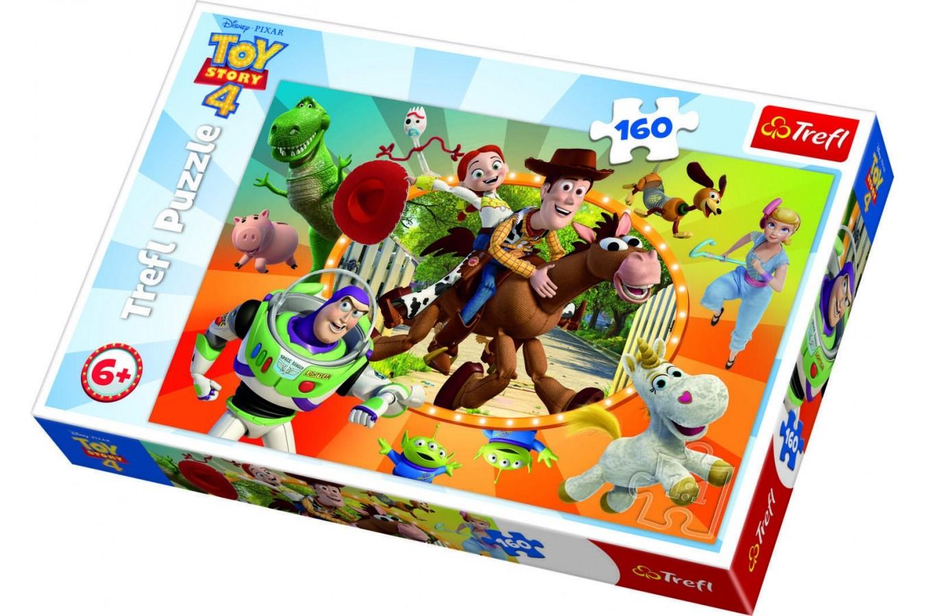 Puzzle Trefl - Toy Story 4, 160 piese (15367) imagine
