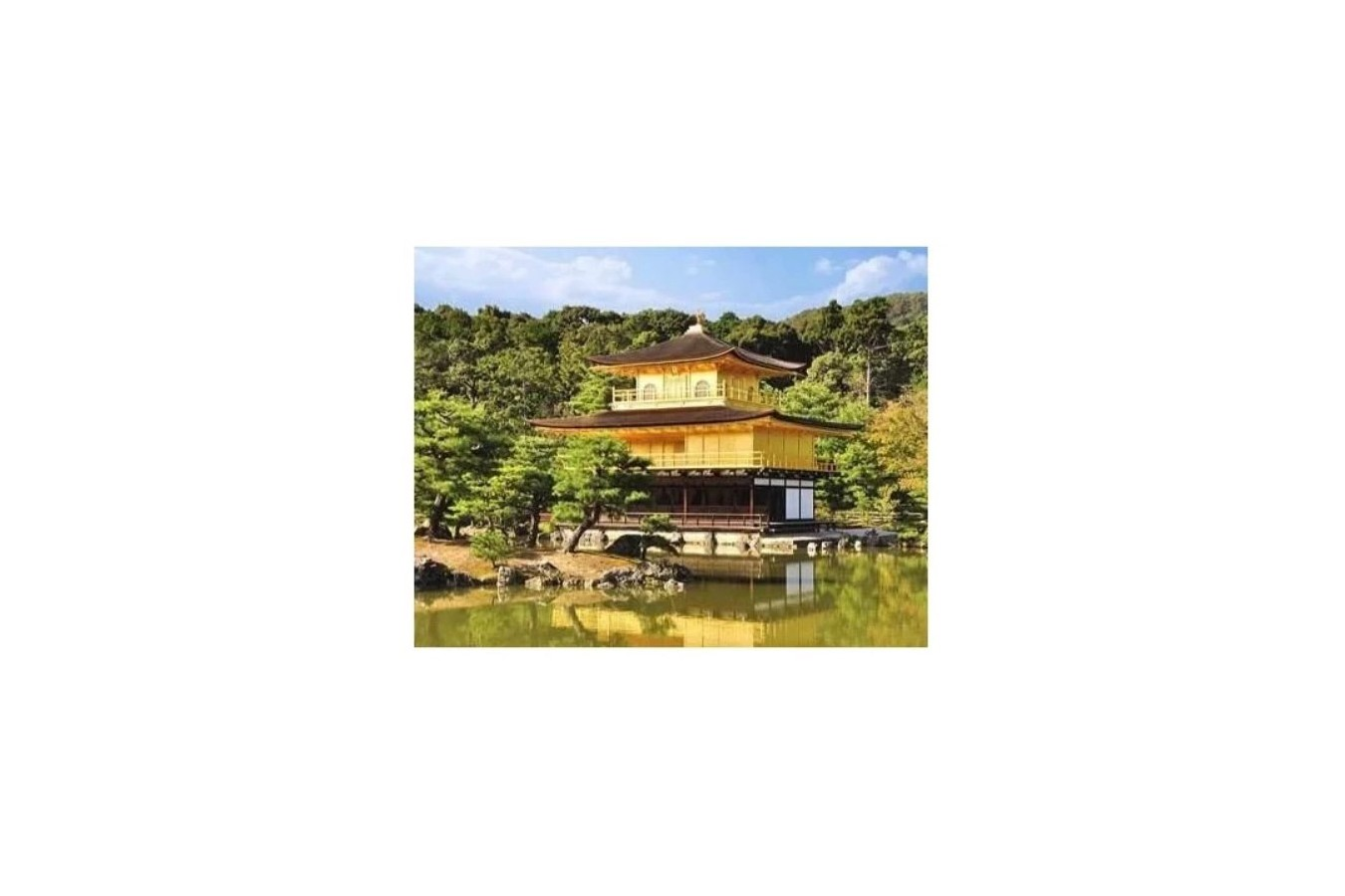Puzzle din plastic Pintoo - A Temple in Kyoto, Japan, 500 piese (H1532) imagine