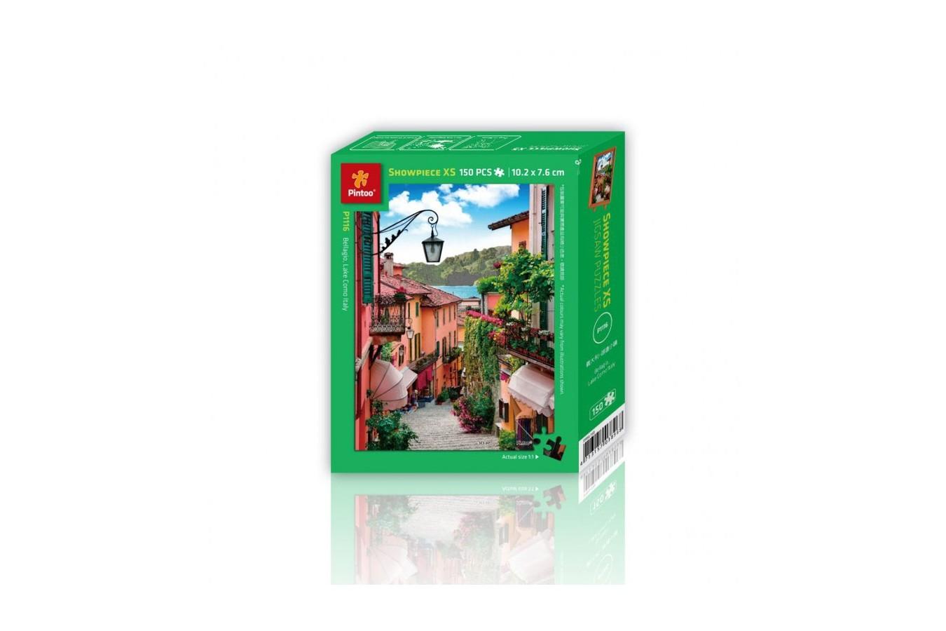 Puzzle din plastic Pintoo - Bellagio, Lake Como, Italy, 150 piese (P1116) imagine