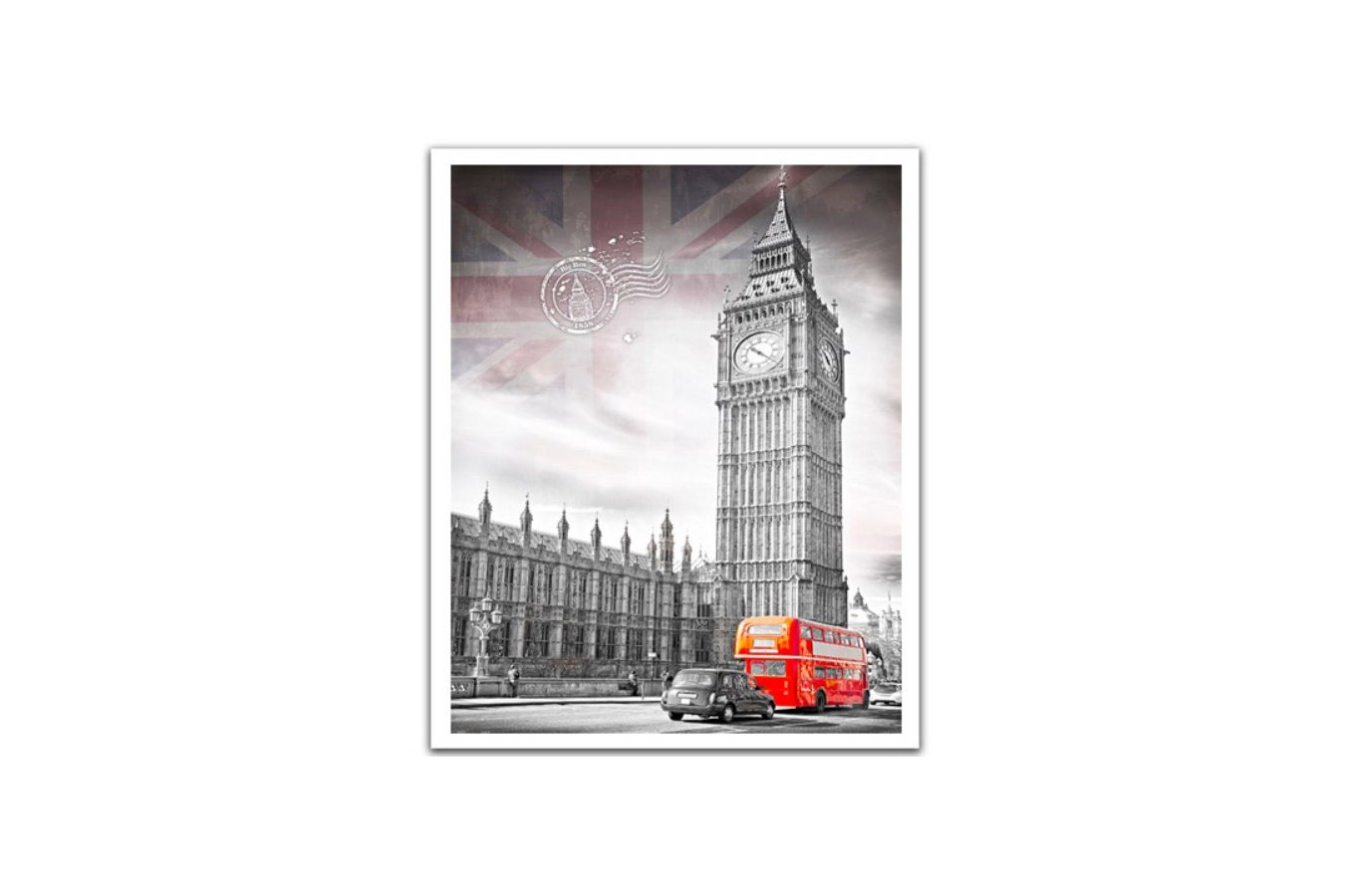 Puzzle din plastic Pintoo - Big Ben, England, 2.000 piese (H1538) imagine