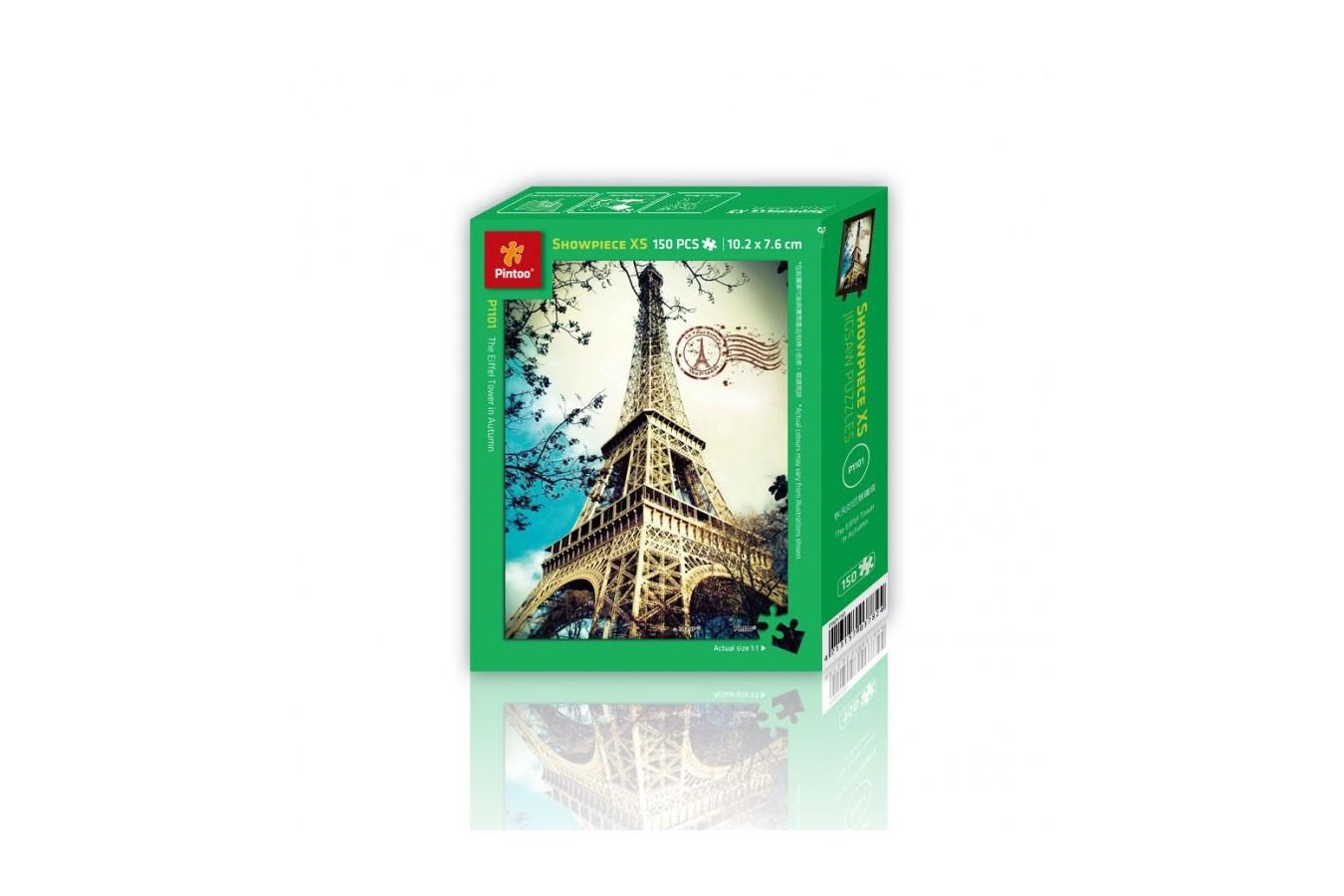 Puzzle din plastic Pintoo - Eiffel Tower, 150 piese (P1101) imagine