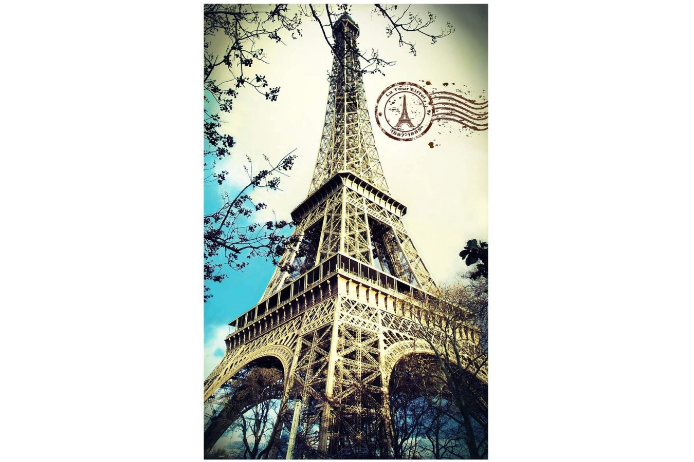Puzzle din plastic Pintoo - Eiffel Tower, 4.000 piese (H1756) imagine