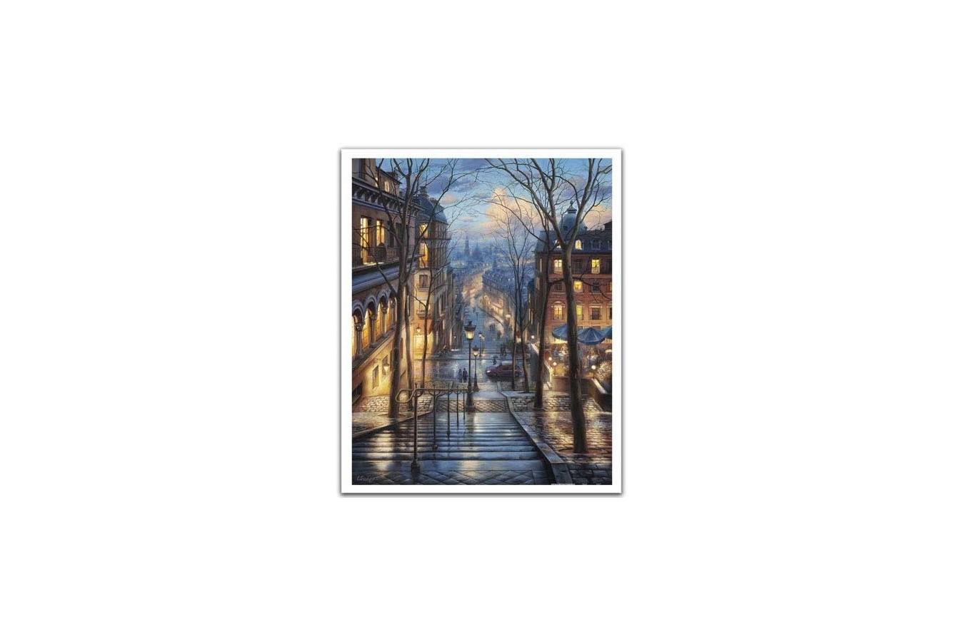 Puzzle din plastic Pintoo - Eugeny Lushpin: Montmartre Spring, 2.000 piese (H2058) imagine
