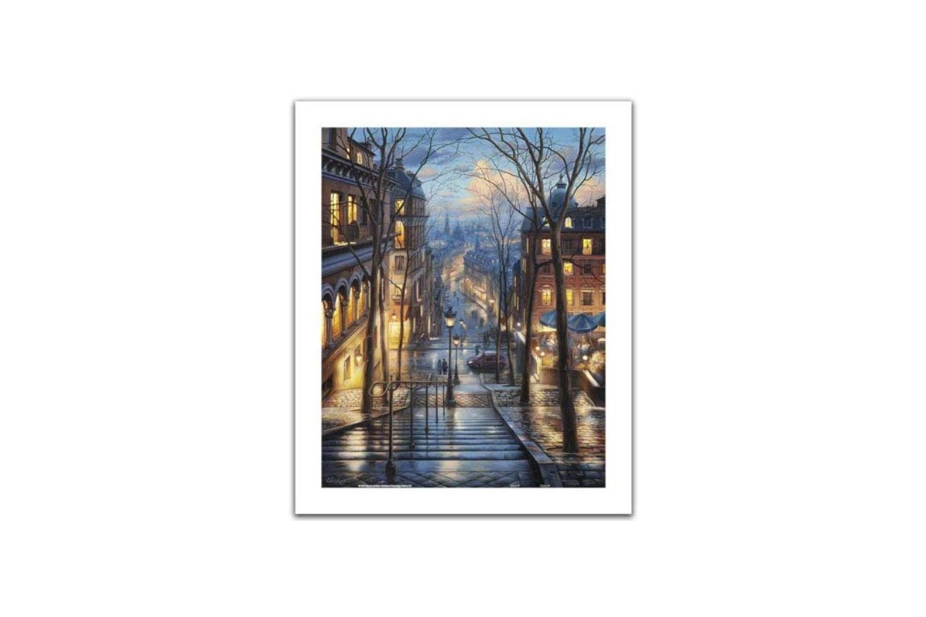 Puzzle din plastic Pintoo - Eugeny Lushpin: Montmartre Spring, 500 piese (H2059) imagine