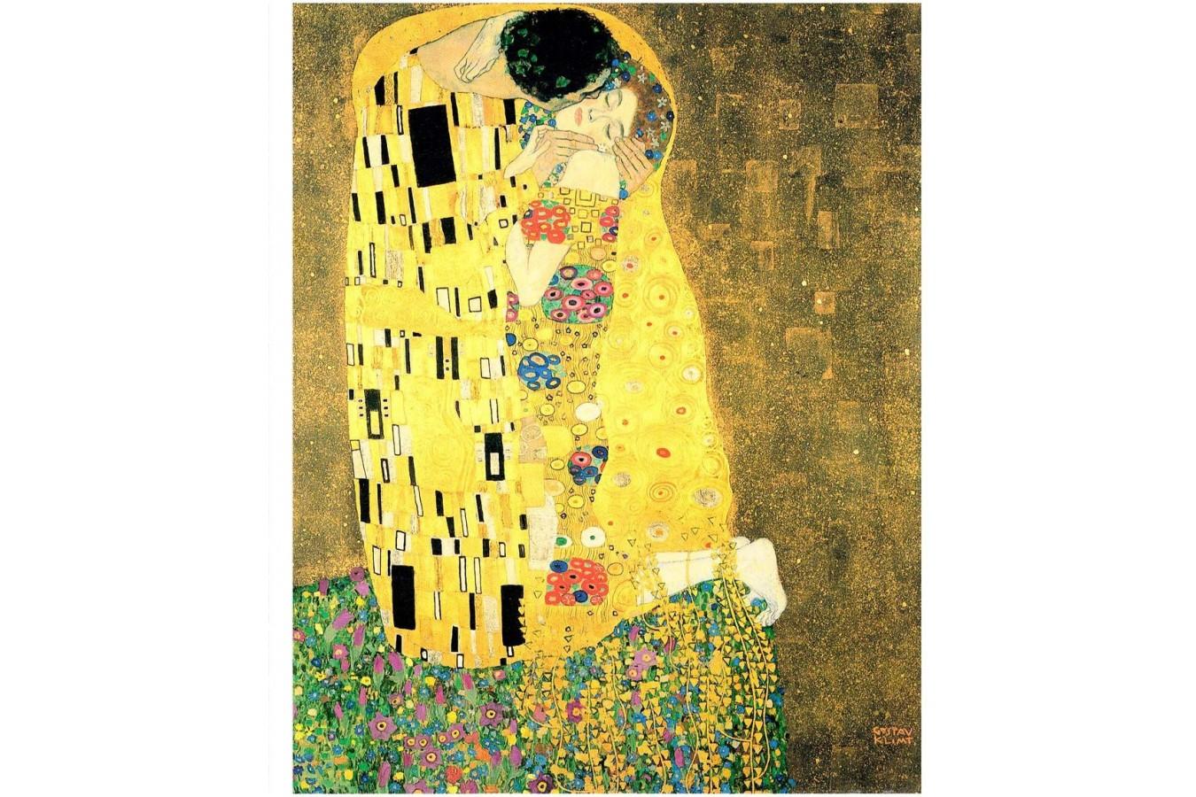 Puzzle din plastic Pintoo - Gustav Klimt: The Kiss, 2.000 piese (H1765) imagine